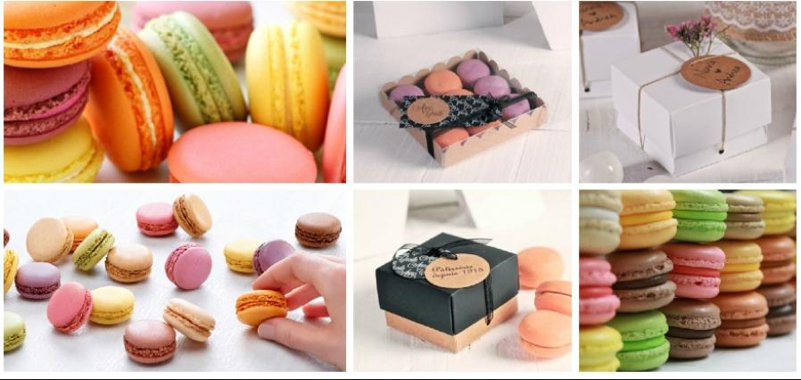 acarons, wedding favours, singel macaron, macaroon wedding favour